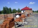 Budowa kościoła: kwiecień - maj 2017
