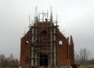 Budowa kościoła: wrzesień - grudzień 2017